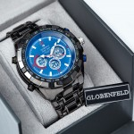 black blue dial box
