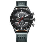 seal gray chronograph face